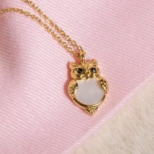 Kate Spade ♠️ NWOT Gold Owl Necklace